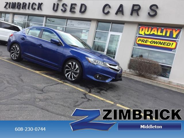Certified Pre-Owned 2016 Acura ILX 4dr Sdn w/Premium/A-SPEC Pkg