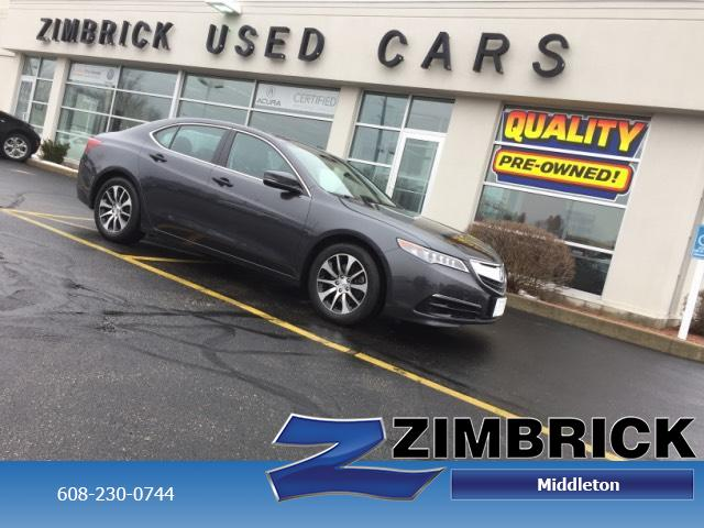 Certified Pre-Owned 2016 Acura TLX 4dr Sdn FWD Tech