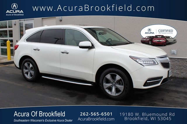 Certified Pre-Owned 2014 Acura MDX SH-AWD 4dr