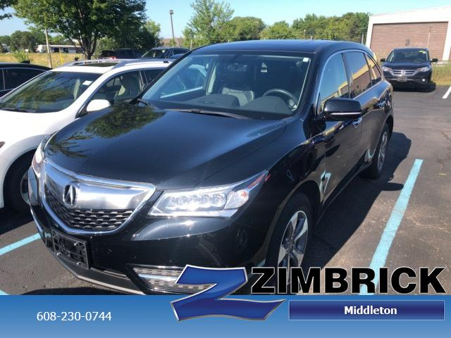 Certified Pre-Owned 2016 Acura MDX SH-AWD 4dr