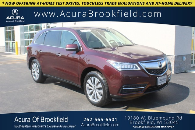 Certified Pre-Owned 2015 Acura MDX Tech Pkg