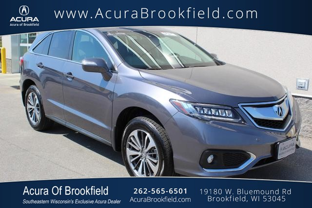 Certified Pre-Owned 2018 Acura RDX AWD w/Advance Pkg