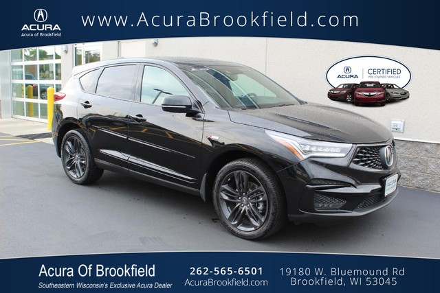 Certified Pre-Owned 2019 Acura RDX w/A-Spec Pkg