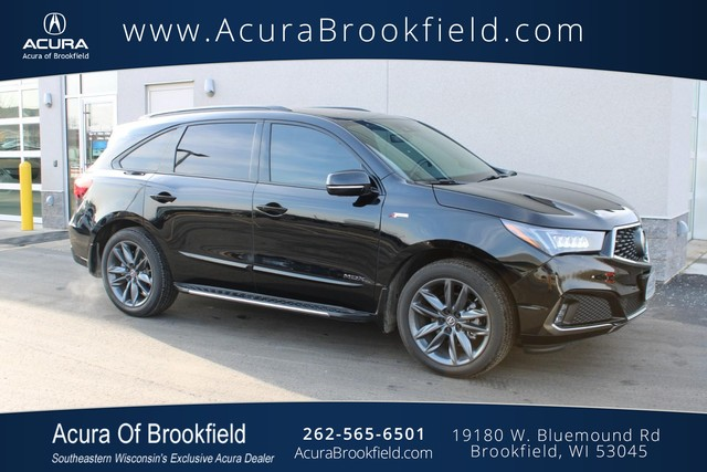 Certified Pre-Owned 2019 Acura MDX w/Technology/A-Spec Pkg