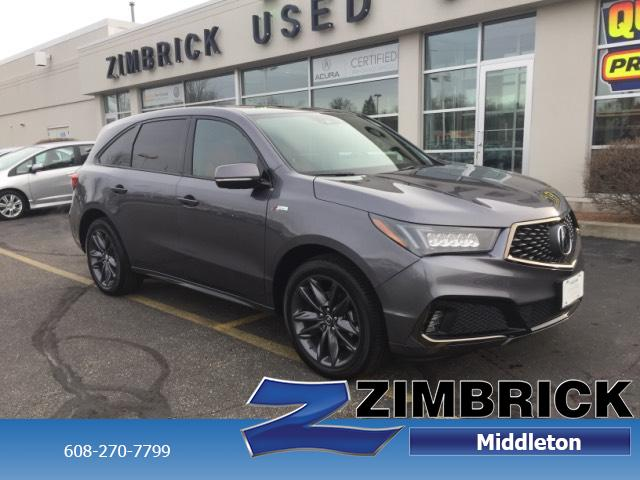 Certified Pre-Owned 2019 Acura MDX SH-AWD w/Technology/A-Spec Pkg