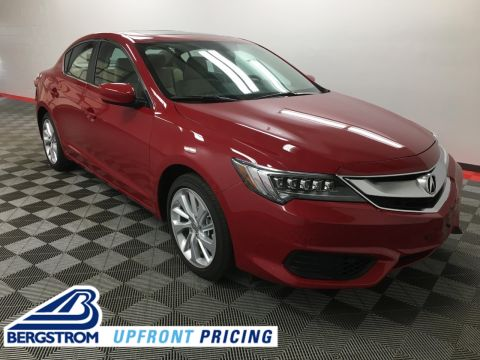 Certified Pre-Owned 2018 Acura ILX Sedan w/Premium Pkg