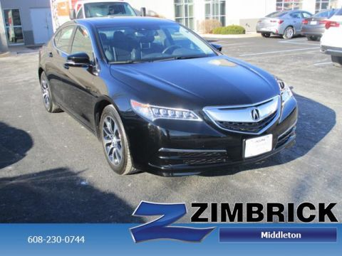 Certified Pre-Owned 2015 Acura TLX 4dr Sdn FWD Tech