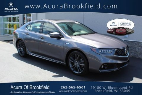 Certified Pre-Owned 2018 Acura TLX FWD V6 A-Spec Red