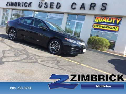 Certified Pre-Owned 2015 Acura TLX 4dr Sdn SH-AWD V6 Tech