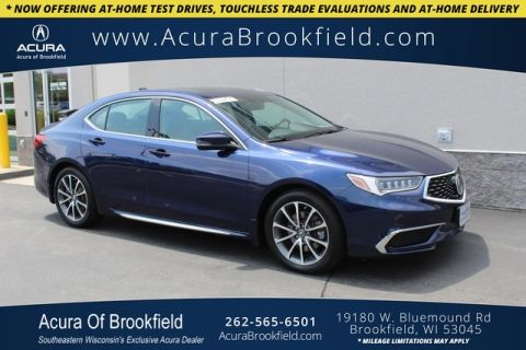 Certified Pre-Owned 2018 Acura TLX SH-AWD V6 w/Technology Pkg