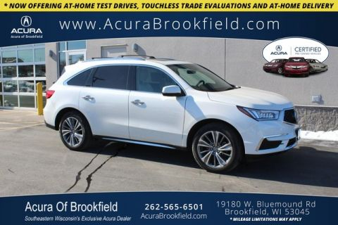 Certified Pre-Owned 2017 Acura MDX SH-AWD w/Technology Pkg
