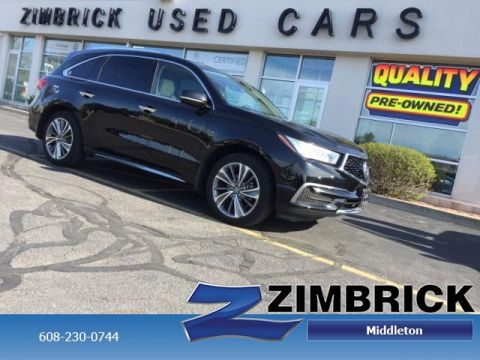 Certified Pre-Owned 2017 Acura MDX SH-AWD w/Technology/Entertainment P