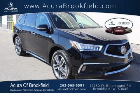 Certified Pre-Owned 2017 Acura MDX Sport Hybrid SH-AWD w/Advance Pkg