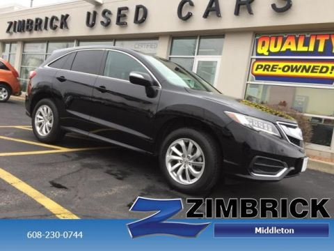 Certified Pre-Owned 2016 Acura RDX FWD 4dr