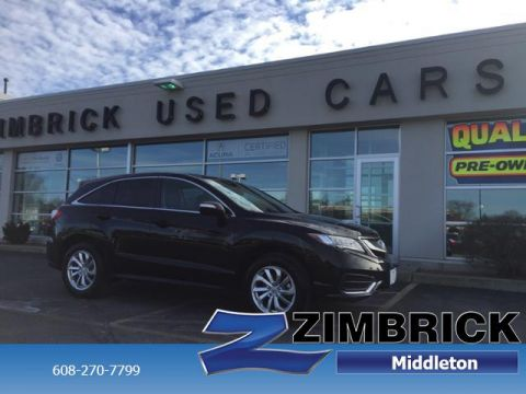 Certified Pre-Owned 2017 Acura RDX AWD w/AcuraWatch Plus