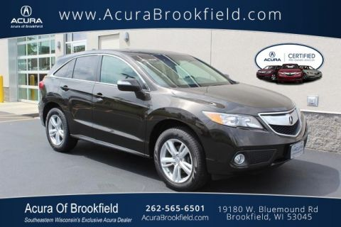 Certified Pre-Owned 2015 Acura RDX Tech Pkg