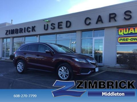 Certified Pre-Owned 2017 Acura RDX AWD w/Technology Pkg