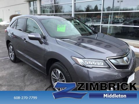 Certified Pre-Owned 2017 Acura RDX AWD w/Advance Pkg