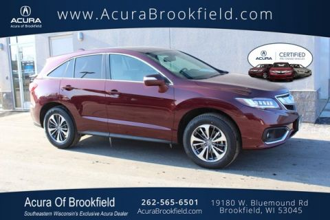 Certified Pre-Owned 2017 Acura RDX w/Advance Pkg