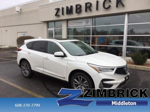 Certified Pre-Owned 2020 Acura RDX AWD w/Technology Pkg