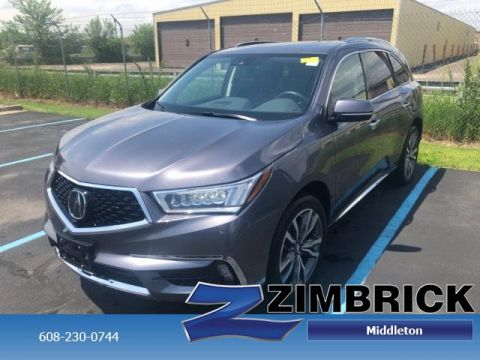 Certified Pre-Owned 2019 Acura MDX SH-AWD w/Advance Pkg